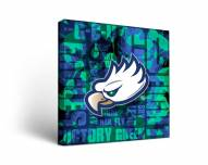 Florida Gulf Coast Eagles Fight Song Canvas Wall Art