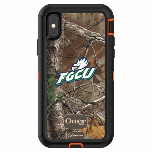Florida Gulf Coast Eagles OtterBox iPhone X Defender Realtree Camo Case