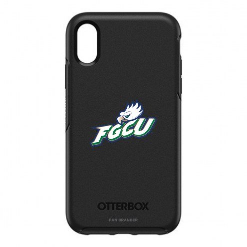 Florida Gulf Coast Eagles OtterBox iPhone XR Symmetry Black Case