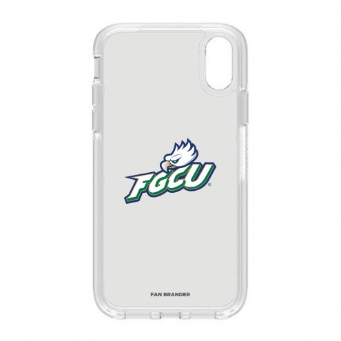 Florida Gulf Coast Eagles OtterBox iPhone XR Symmetry Clear Case
