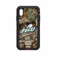 Florida Gulf Coast Eagles OtterBox iPhone XS Max Defender Realtree Camo Case