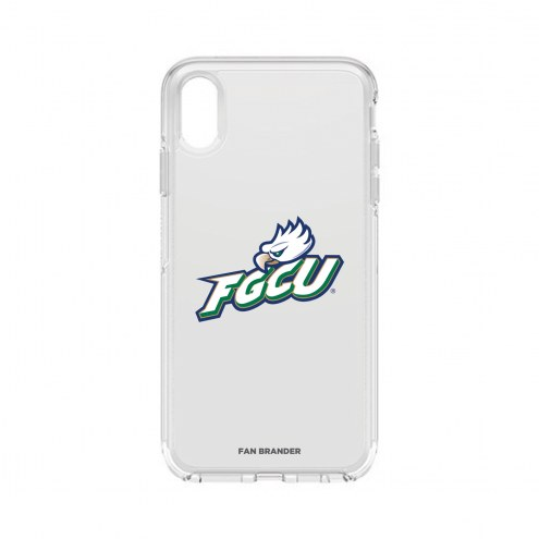 Florida Gulf Coast Eagles OtterBox iPhone XS Max Symmetry Clear Case