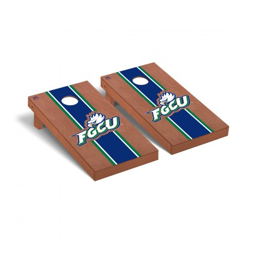 Florida Gulf Coast Eagles Rosewood Stained Cornhole Game Set