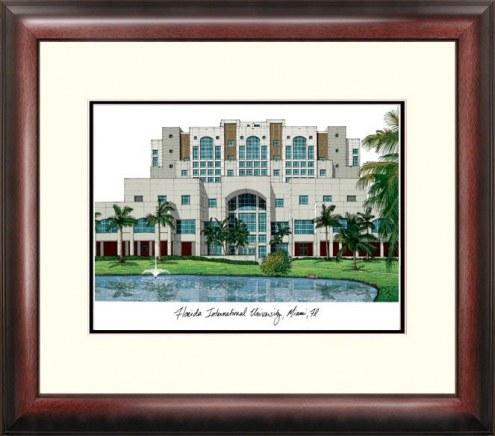 Florida International Golden Panthers Alumnus Framed Lithograph