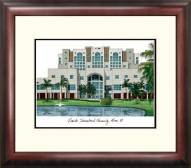 Florida International Golden Panthers Alumnus Framed Lithograph