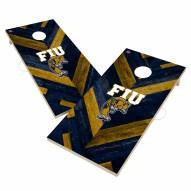 Florida International Golden Panthers Herringbone Cornhole Game Set