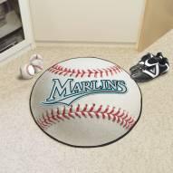 Florida Marlins Baseball Rug