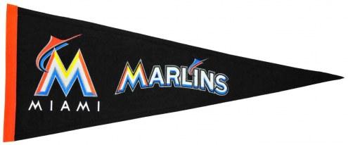 Miami Marlins Major League Baseball Traditions Pennant