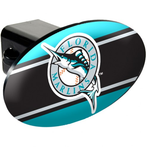 Florida Marlins MLB Trailer Hitch Cover