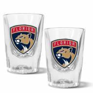 Florida Panthers 2 oz. Prism Shot Glass Set