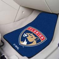 Florida Panthers 2-Piece Carpet Car Mats