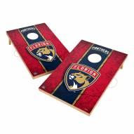 Florida Panthers 2' x 3' Vintage Wood Cornhole Game