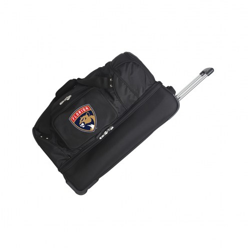 "Florida Panthers 27"" Drop Bottom Wheeled Duffle Bag"