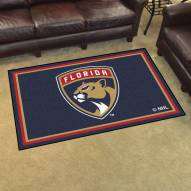 Florida Panthers 4' x 6' Area Rug