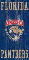 "Florida Panthers 6"" x 12"" Heritage Logo Sign"