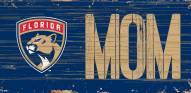 """Florida Panthers 6"""" x 12"""" Mom Sign"""