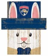"""Florida Panthers 6"""" x 5"""" Easter Bunny Head"""