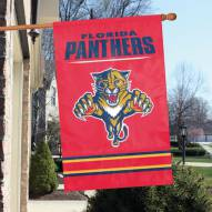 Florida Panthers Applique Banner Flag