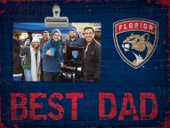 Florida Panthers Best Dad Clip Frame