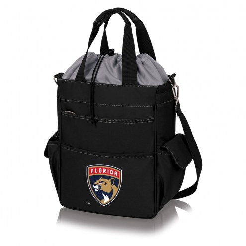 Florida Panthers Black Activo Cooler Tote