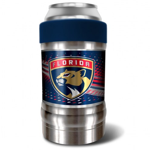 Florida Panthers Blue 12 oz. Locker Vacuum Insulated Can Holder