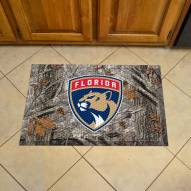Florida Panthers Camo Scraper Door Mat