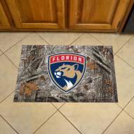 Florida Panthers Camo Scraper Door Mat