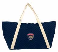 Florida Panthers Chevron Stitch Weekender Bag