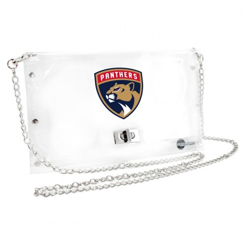 Florida Panthers Clear Envelope Purse