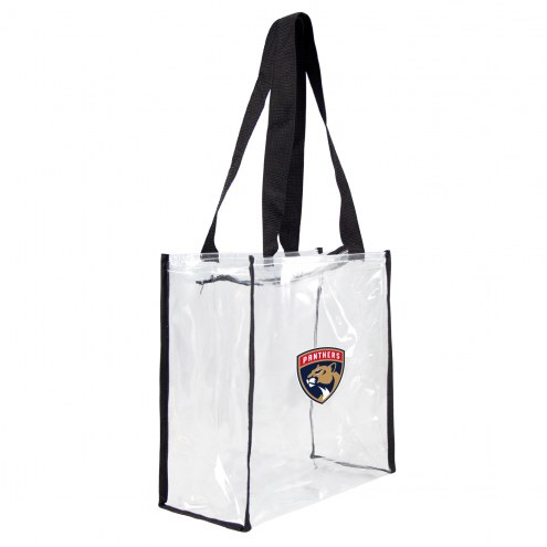 Florida Panthers Clear Square Stadium Tote