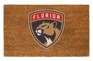 Florida Panthers Colored Logo Door Mat