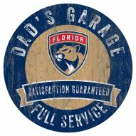 Florida Panthers Dad's Garage Sign