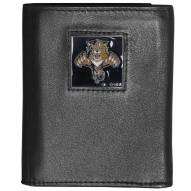 Florida Panthers Deluxe Leather Tri-fold Wallet in Gift Box