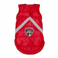 Florida Panthers Dog Puffer Vest