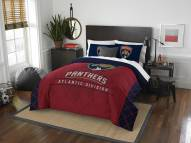 Florida Panthers Draft Full/Queen Comforter Set