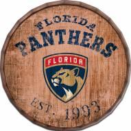 """Florida Panthers Established Date 16"""" Barrel Top"""