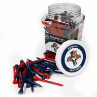 Florida Panthers 175 Golf Tee Jar