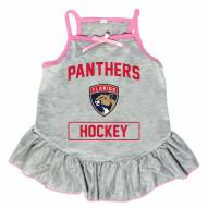 Florida Panthers Gray Dog Dress