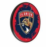 Florida Panthers Digitally Printed Wood Clock