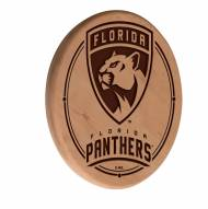 Florida Panthers Laser Engraved Wood Sign