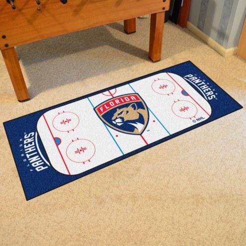 Florida Panthers Hockey Rink Runner Mat
