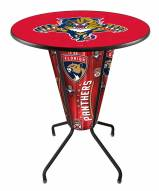 Florida Panthers Indoor Lighted Pub Table