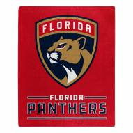 Florida Panthers Interference Raschel Blanket