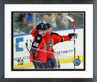 Florida Panthers Jaromir Jagr Action Framed Photo