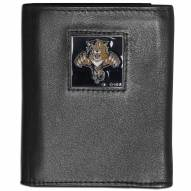 Florida Panthers Leather Tri-fold Wallet