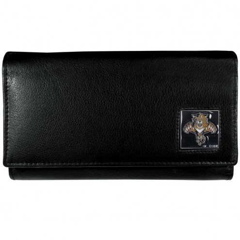 Florida Panthers Leather Women's Wallet