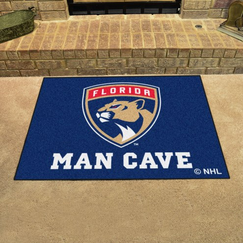 Florida Panthers Man Cave All-Star Rug