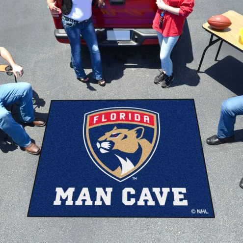 Florida Panthers Man Cave Tailgate Mat