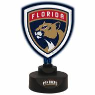 Florida Panthers Team Logo Neon Light