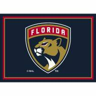 Florida Panthers NHL Team Spirit Area Rug